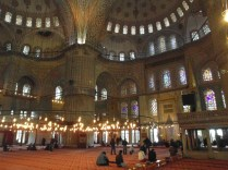 interieur Blauwe Moskee
