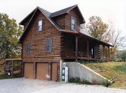 New Log Home #16