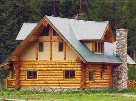 New Log Home #44