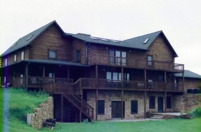 New Log Home #9