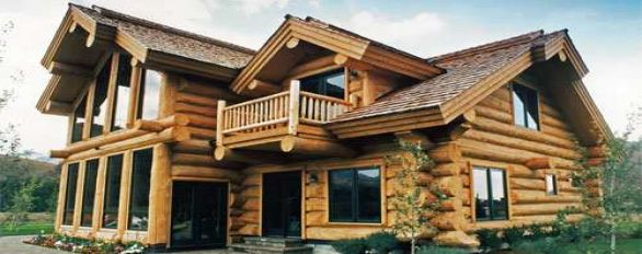 DEFY Exterior From Log Home Store