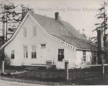 Doc Maynard's Alki home.