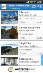 WorldScope Webcams - Скриншот№1