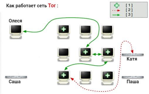 Шаг 3: Как работает Tor браузер