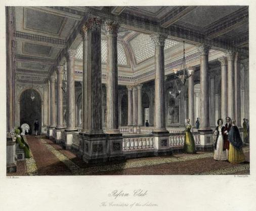Reform_Club._Upper_level_of_the_saloon._From_London_Interiors_(1841)