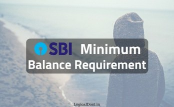 SBI Account Me Minimum Balance
