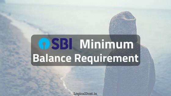 SBI Account Me Minimum Balance