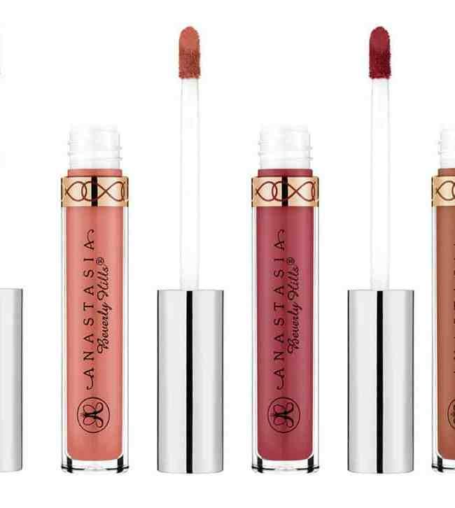 Anastasia Beverly Hills Vegan Liquid Lipstick Shades