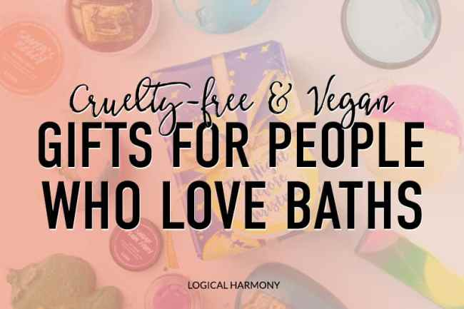 Cruelty-Free Gift Guide for People Who Love Baths