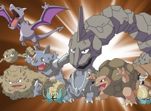 Rock Type Pokemon