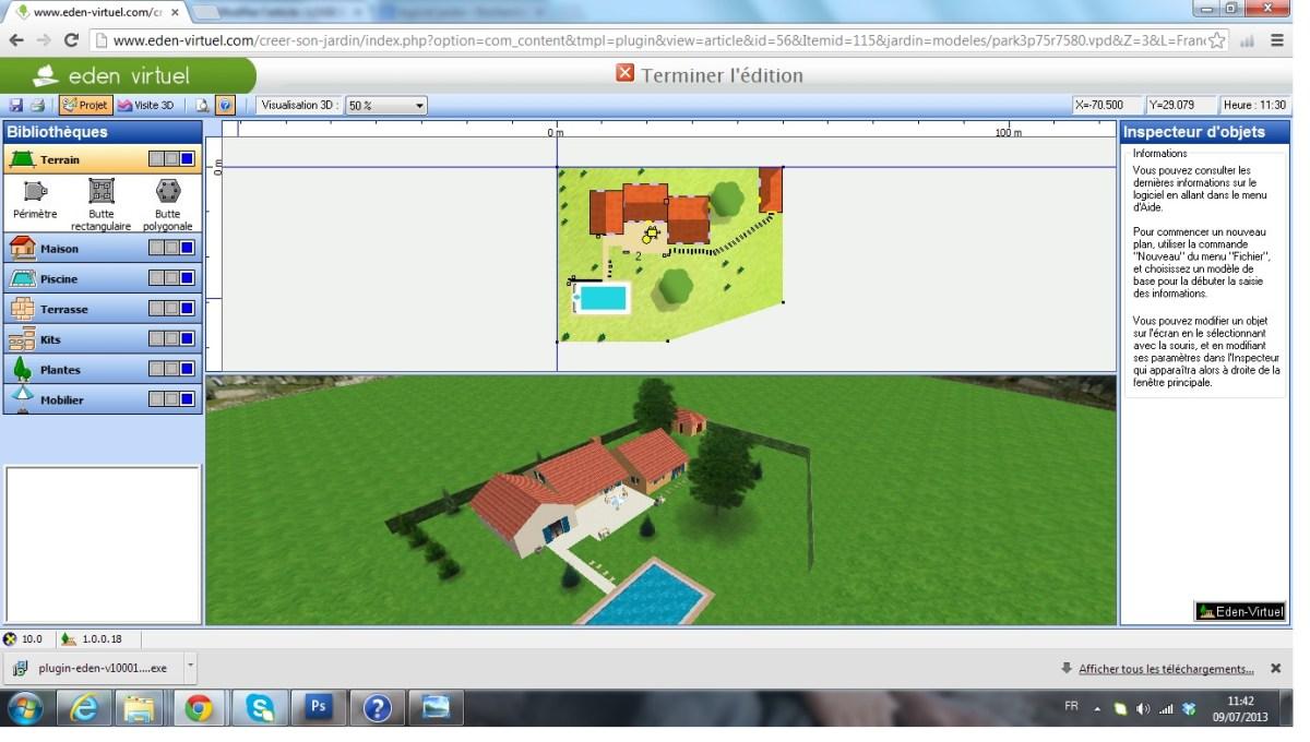 logiciel d am nagement de jardin gratuit ou payant logiciels jardins le guide. Black Bedroom Furniture Sets. Home Design Ideas