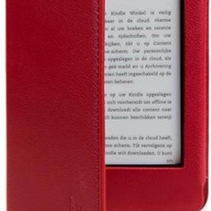 Gecko Covers – Luxe Sleepcover voor Amazon Kindle 2014 – Rood