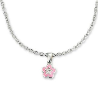"Set bijoux ""Fleur roses"" Sieraden set flower 4258"