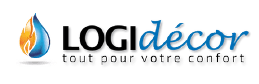 Logidecor Angers - Poêle cheminée piscine spa Logo