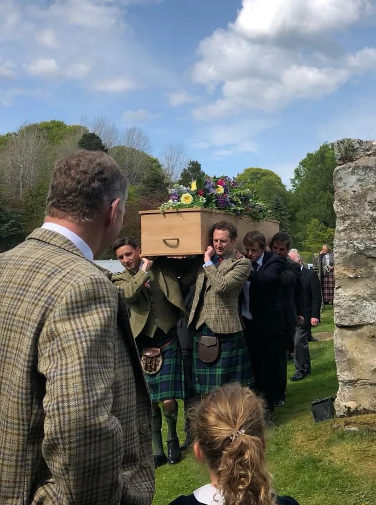 Alec Laing - Great Grandma's Elm Coffin