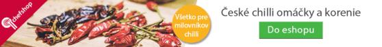 Obrovský výber chilli omáčok, chilli korenie aj chilli mashov pre všetkých milovníkov pikantných chutí