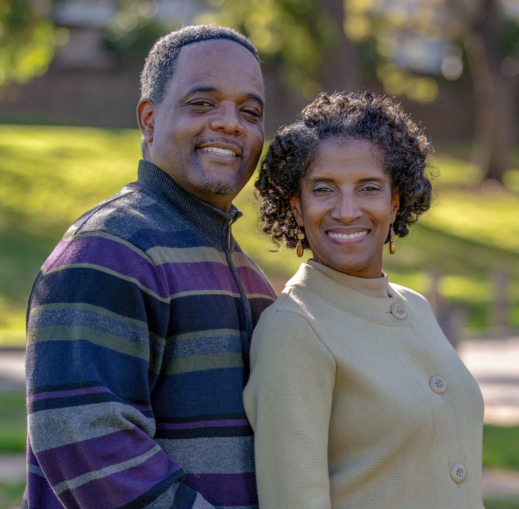 Lifetime Adoptive Parents Barry and Camille