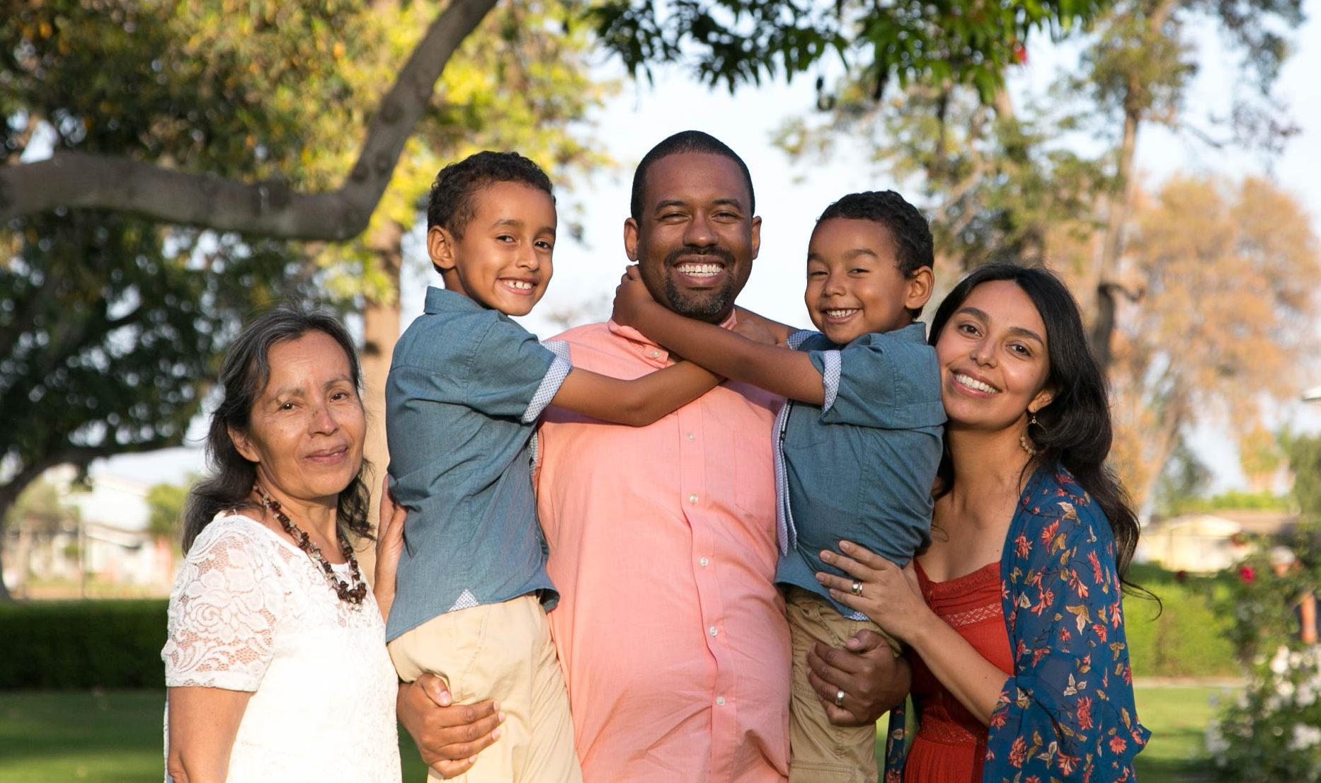 Lifetime Adoptive Parents Tandre and Carmen