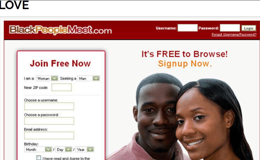 Blackpeoplemeet com login