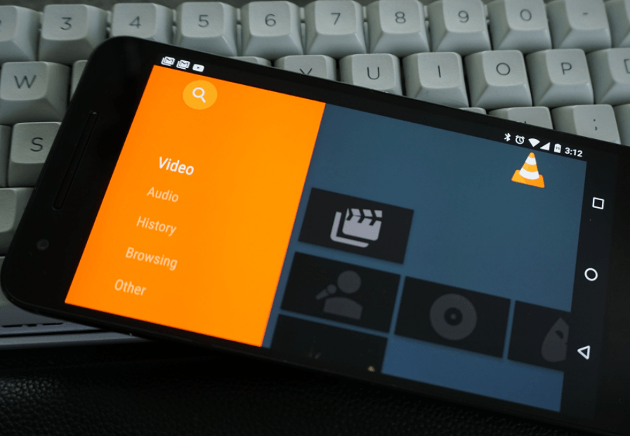 Media Library In VLC For Android