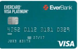 EverCard Platinum Visa credit card