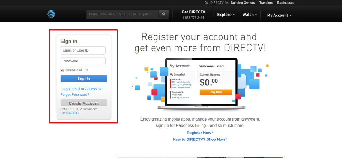 Account Sign In New Customer