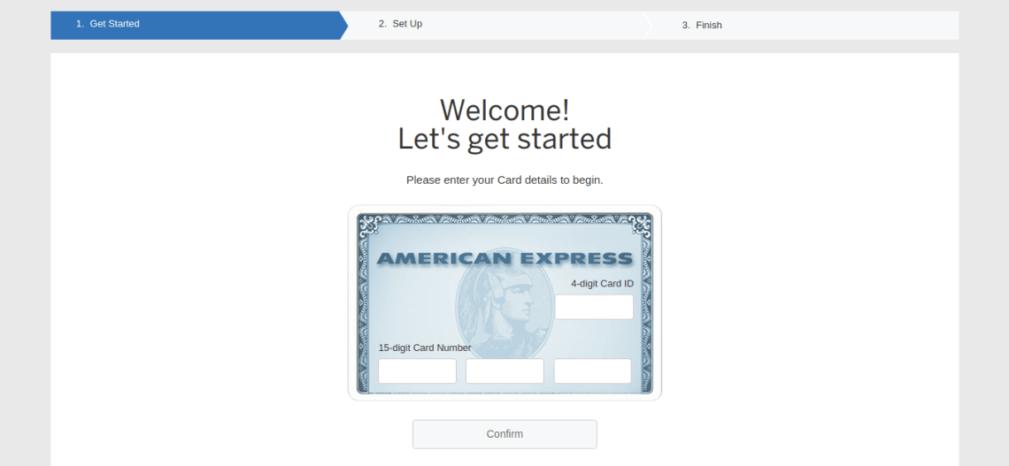 American Express Online Services