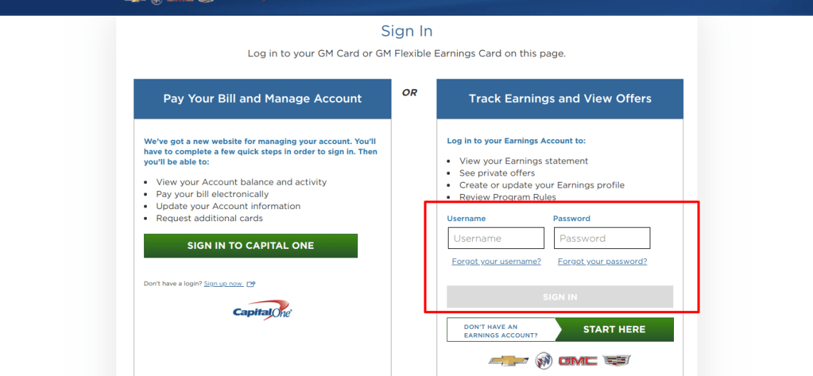 www buypowercard com - Capital One GM Card Login - Login Helps