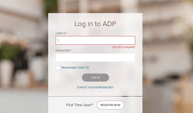 Login to MyADP