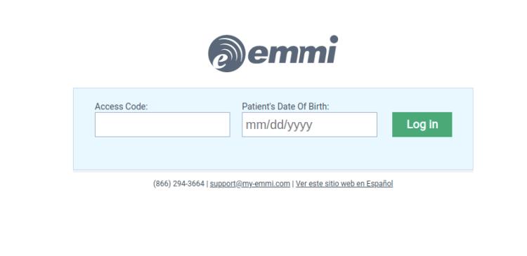 Log In - Emmi