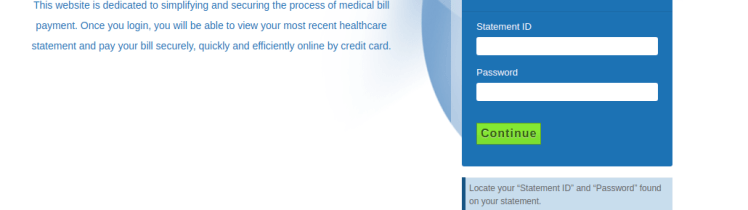 healthcarebillpay Login