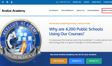 How to Enroll your Name in Acellus Academy