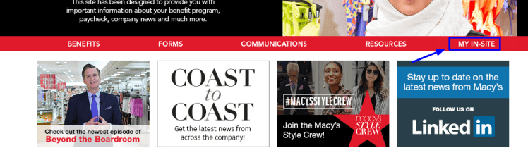 Macy's Employee Connection Portal login