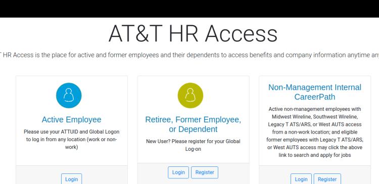 ATT HR Access Logo