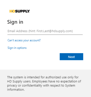 HD Supply Associates Login