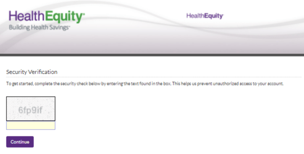 Health Equity account login