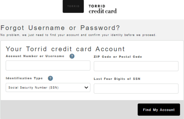 Torrid Credit Card Sign In