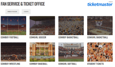 oklahoma state ticket login