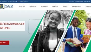 Accra Technical University (ATU) student portal login