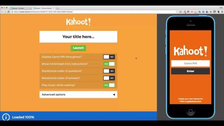 How to Create Kahoot
