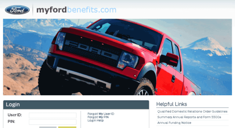 myfordbenefits