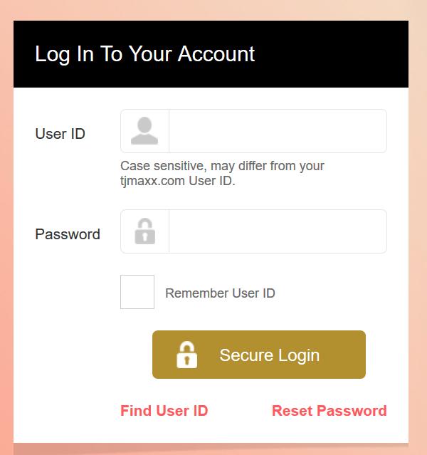 TJX Reward Account Login | logintips.net