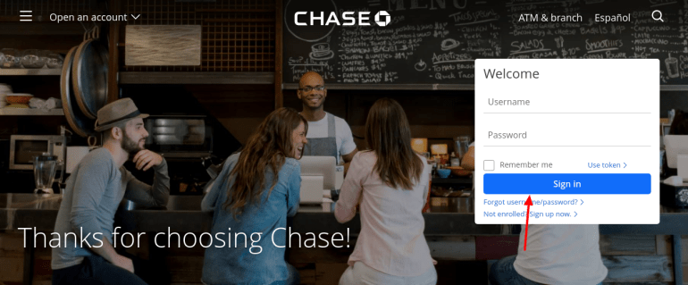 verify chase credit card