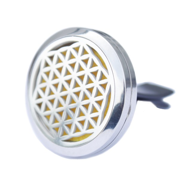 car aromatherapy diffuser, flower of life car, essential oils flower of life