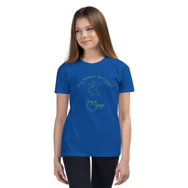 barnyoga, barnyoga t-shirt, cat t-shirt