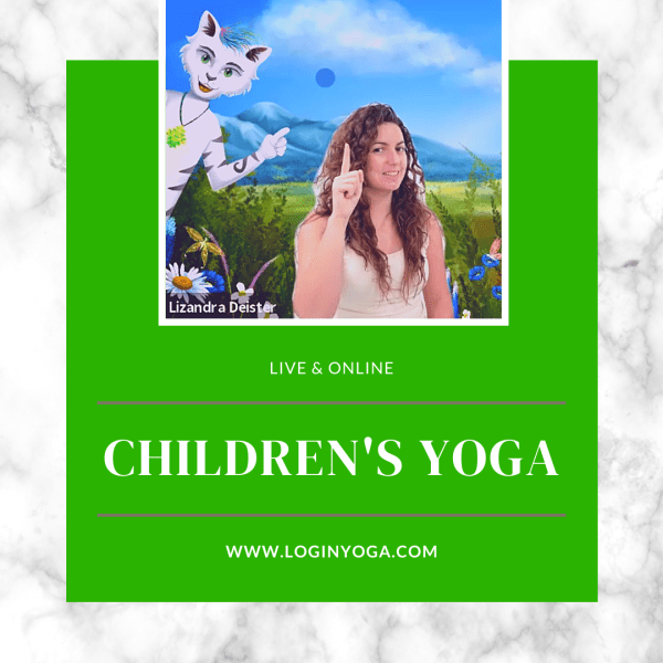 children's yoga, online kids yoga, kids yoga, children's yoga online