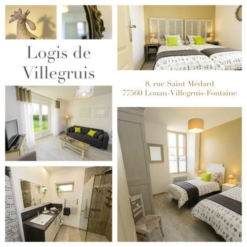 Bienvenue au Logis de Villegruis, gite de charme, décoration cosy et ambiance chaleureuse