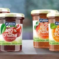 Confetture Zuegg 100% da frutta. Novità a listino LogiS.S.