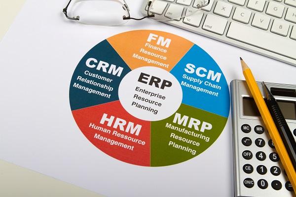 Geschftsplanunung mit einem Warenwirtschaftssystem (ERP)