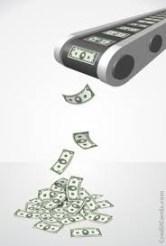 conveyor of money